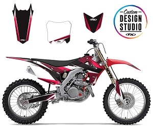 Custom Motocross Graphics: Honda Apex