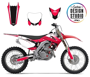 Factory Effex 13-16 Honda CRF450R EVO 16 Shroud Graphic Kit Honda