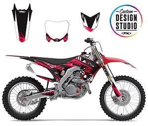 Custom Motocross Graphics: Honda Electric