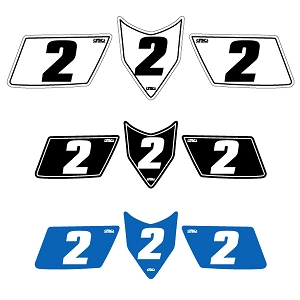 ATV Standard Number Plate Backgrounds