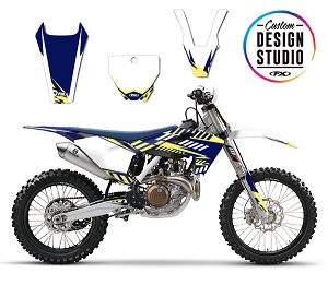 Custom Motocross Graphics: Husqvarna Electric