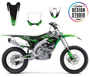 Custom Motocross Graphics: Kawasaki Electric