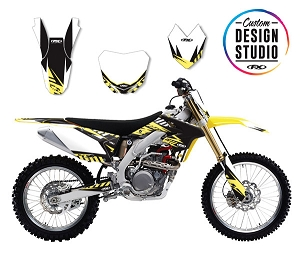 Suzuki Electric Series Custom Graphic Kit