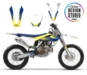 Custom Motocross Graphics: Husqvarna Element