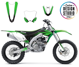 Custom Motocross Graphics: Kawasaki Element
