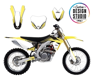 Custom Motocross Graphics: Suzuki Element