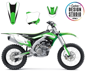Custom Motocross Graphics: Kawasaki EVO 13