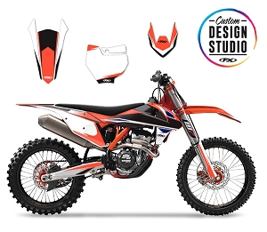 KTM EVO 13 Series Custom Graphic Kit