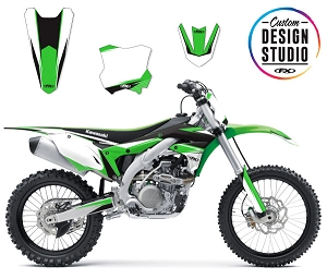 Custom Motocross Graphics: Kawasaki EVO 14