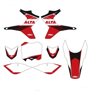 Alta Motors  / EVO 14 Series Graphic Kit