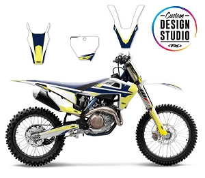 Custom Motocross Graphics: Husqvarna Evo 16