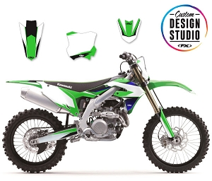Custom Motocross Graphics: Kawasaki EVO 16