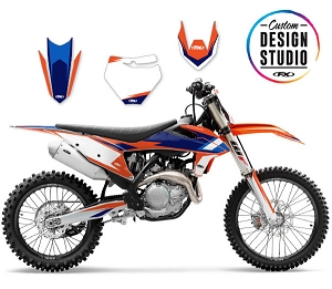 KTM EVO 16 Series Custom Graphic Kit