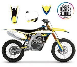 Suzuki EVO 16 Series Custom Graphic Kit