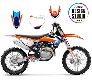 KTM EVO 17 Series Custom Graphic Kit