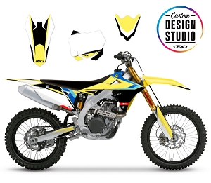 Suzuki EVO 17 Series Custom Graphic Kit