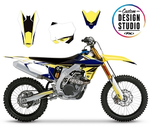 Suzuki EVO 18 Series Custom Graphic Kit