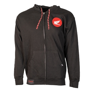 Honda Badge Hooded Zip-up