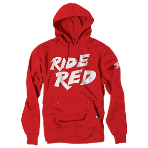Honda Ride Red Youth Pullover Sweatshirt