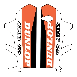 KTM Lower Fork Graphic