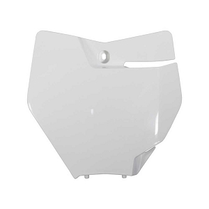 Front Number Plate Plastic KTM SX 16-18 (White)