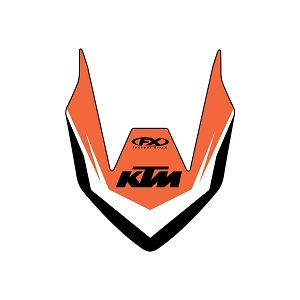 KTM Front Fender Graphic