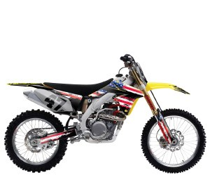 Suzuki Patriot Series Custom Graphic Kit