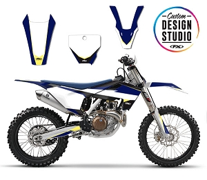 Custom Motocross Graphics: Husqvarna Podium