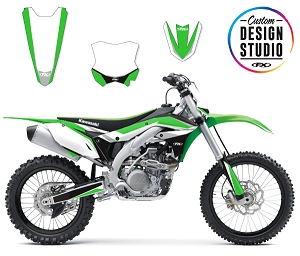 Custom Motocross Graphics: Kawasaki Podium