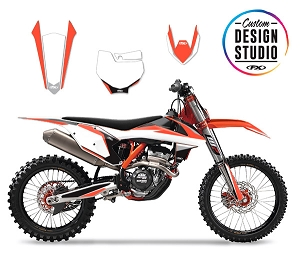 KTM Podium Series Custom Graphic Kit