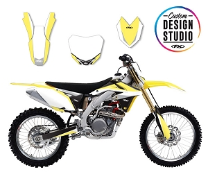 Suzuki Podium Series Custom Graphic Kit
