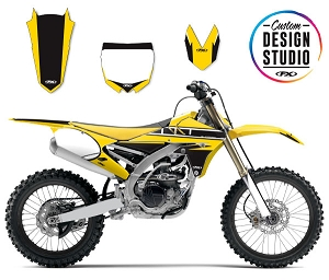 Custom Motocross Graphics: Yamaha Retro