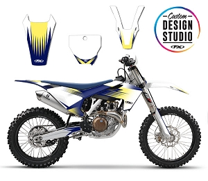 Custom Motocross Graphics: Husqvarna Rev
