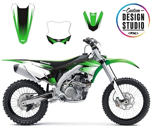 Custom Motocross Graphics: Kawasaki Rev