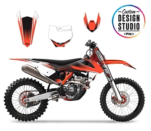 KTM Rev Series Custom Graphic Kit