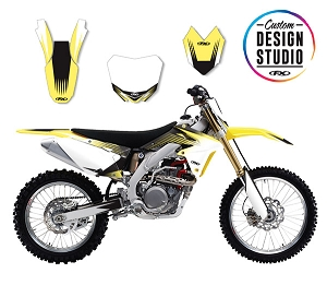 Suzuki Rev Series Custom Graphic Kit