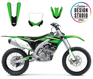 Custom Motocross Graphics: Kawasaki Rockstar 2017