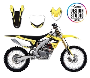 Suzuki Shattered Series Custom Graphic Kit