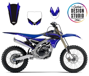 Custom Motocross Graphics: Yamaha Shattered