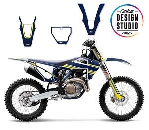 Custom Motocross Graphics: Husqvarna SMPL