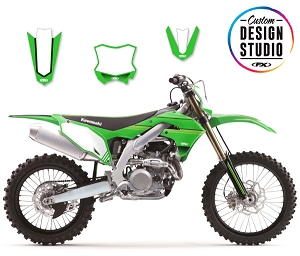 Custom Motocross Graphics: Kawasaki SMPL