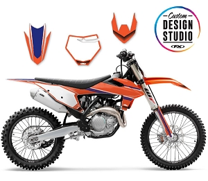 KTM SMPL Series Custom Graphic Kit
