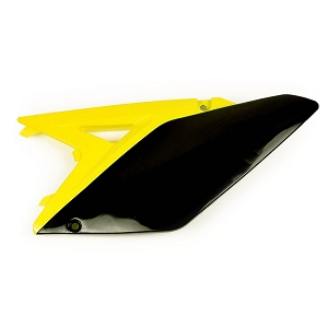 Side Panel Plastic Suzuki RMZ250 10-18 (Yellow/Black)
