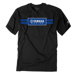 Yamaha Racing Stripes T-Shirt