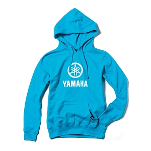 Yamaha Stacked Women's Hooded Pullover
