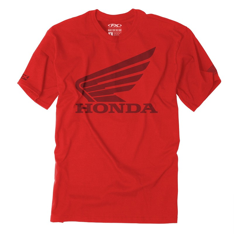 Honda Big Wing T-Shirt - Red