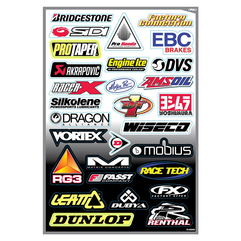 Sponsor Kit D Sticker Sheet