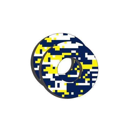 Moto Grip Donuts -Husqvarna (blue/yellow)