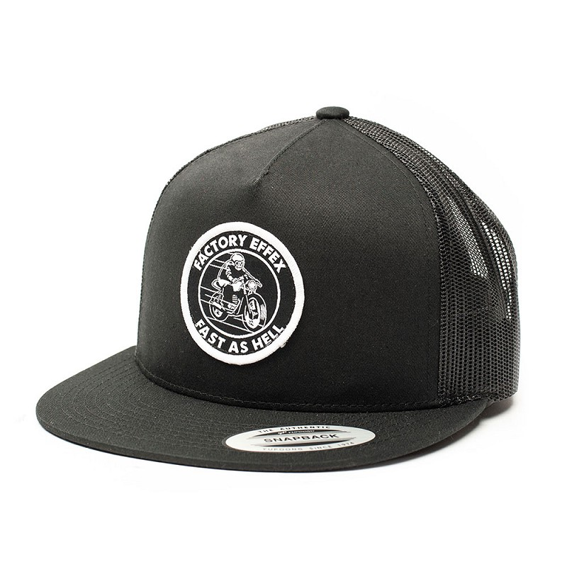 Fast As Hell Snapback Hat