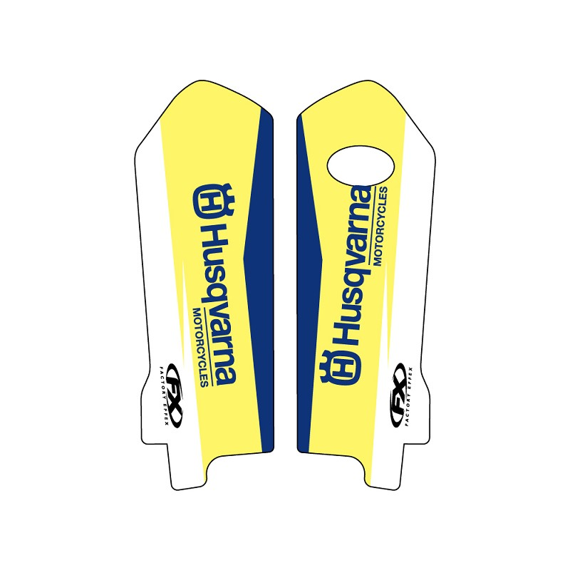 Husqvarna Lower Fork Graphic